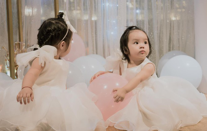 Hai con gái Hoài Lâm xinh như thiên thần trong ngày sinh nhật - Ảnh 5.