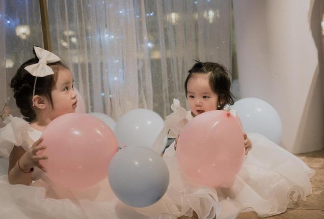 Hai con gái Hoài Lâm xinh như thiên thần trong ngày sinh nhật - Ảnh 7.