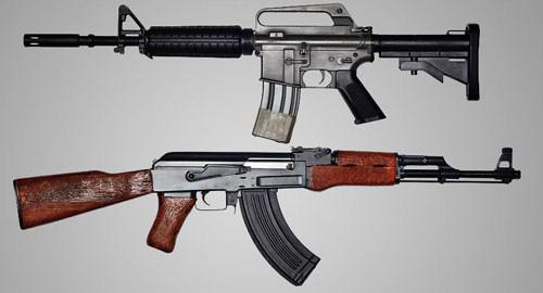 Đọ uy lực súng trường tấn công AK-47 của Nga và AR-15 của Mỹ - Ảnh 2.