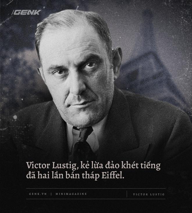 Victor Lustig, kẻ lừa đảo khét tiếng đã hai lần bán tháp Eiffel - Ảnh 3.
