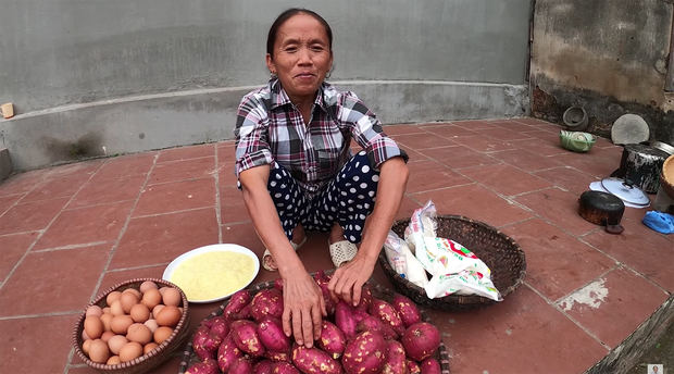 Lại thất bại trong màn làm đồ ăn siêu to khổng lồ, bà Tân nhanh chóng chữa cháy để cứu chiếc bánh khoai - Ảnh 2.