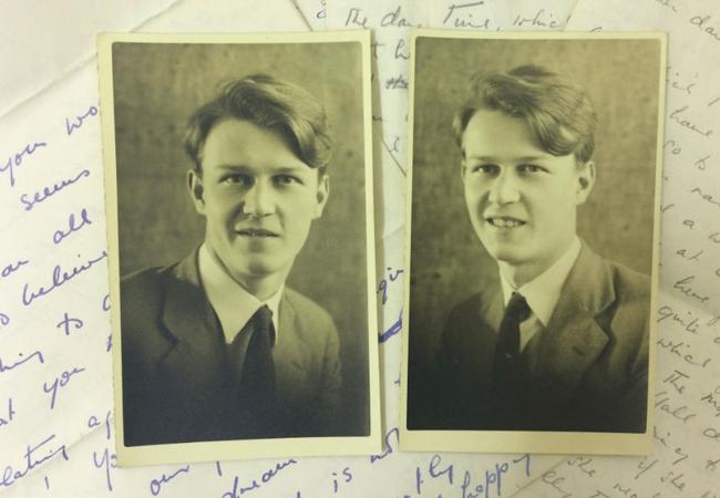 Hơn 600 bức thư tình trong 6 năm và tình yêu trong bóng tối của 2 người đàn ông giữa bom đạn chết chóc nhưng không có kết cục đẹp - Ảnh 7.
