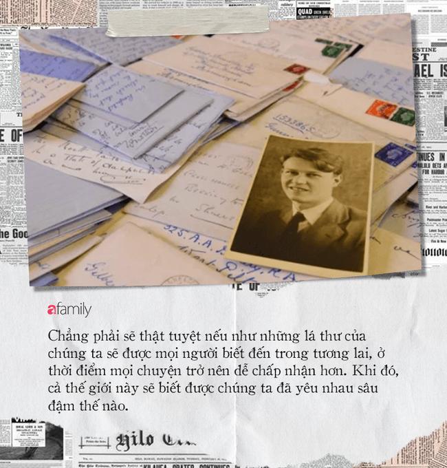 Hơn 600 bức thư tình trong 6 năm và tình yêu trong bóng tối của 2 người đàn ông giữa bom đạn chết chóc nhưng không có kết cục đẹp - Ảnh 8.