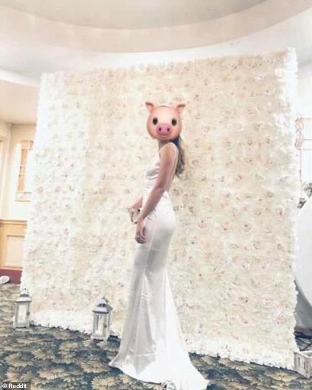 Đi đám cưới diện đầm trắng đính đá lộng lẫy hơn cả cô dâu, cô gái bị dân mạng 'ném đá' kịch liệt - Ảnh 9.