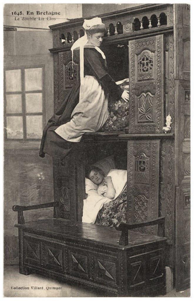Tại sao nhiều người Châu Âu thời Trung cổ lại ngủ trong những chiếc giường hộp? - Ảnh 7.