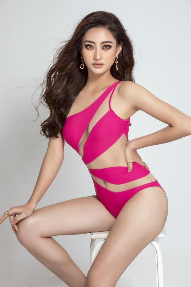 Vừa lọt top 10 Model Miss World, Lương Thùy Linh đã gây sốt với loạt ảnh bikini khoe chân dài 1m22 và body cực chuẩn - Ảnh 3.