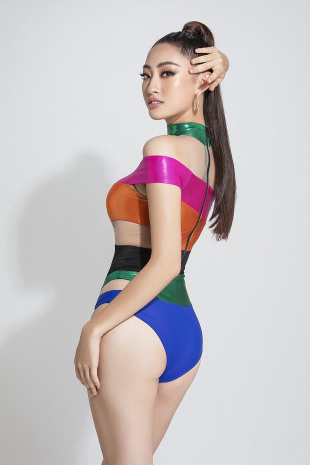Vừa lọt top 10 Model Miss World, Lương Thùy Linh đã gây sốt với loạt ảnh bikini khoe chân dài 1m22 và body cực chuẩn - Ảnh 4.