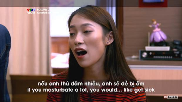 Khánh Vy gây tranh cãi khi nói về thủ dâm trong chương trình dạy tiếng Anh của VTV7, ekip chương trình nói gì? - Ảnh 3.