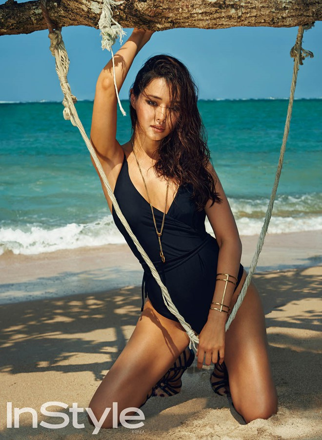 Vẻ đẹp nóng bỏng của Hoa hậu đẹp nhất Hàn Quốc là tiến sĩ âm nhạc, có xuất thân danh giá - Ảnh 12.