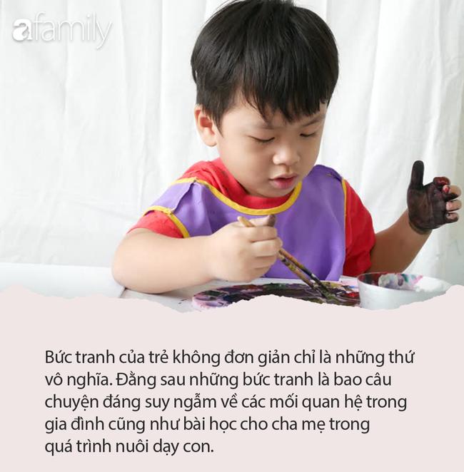 Cô giáo giao bài tập về nhà Hãy vẽ mẹ của em, mở bức tranh đầu tiên của bé 5 tuổi liền giật mình gọi cho phụ huynh - Ảnh 2.
