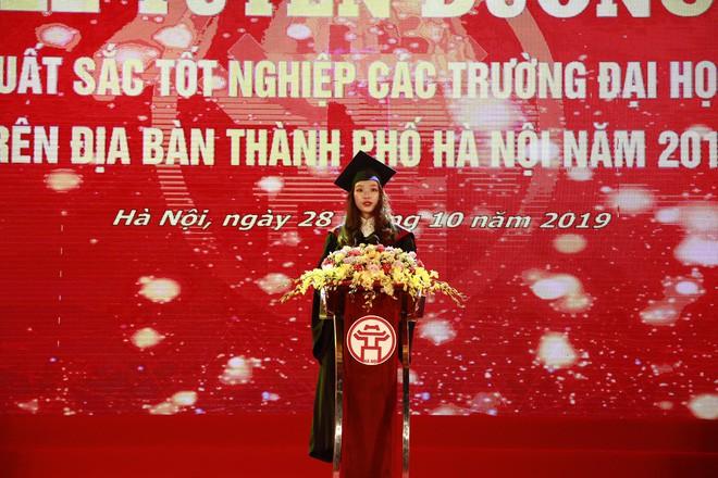 Thủ khoa xinh đẹp trường Kinh tế Quốc dân khiến dân tình choáng váng vì thành tích học tập siêu đỉnh, học 3.5 năm đã tốt nghiệp ĐH - Ảnh 3.