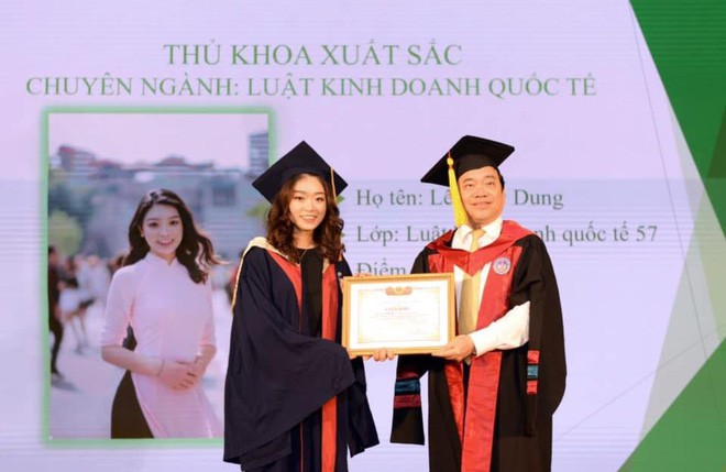 Thủ khoa xinh đẹp trường Kinh tế Quốc dân khiến dân tình choáng váng vì thành tích học tập siêu đỉnh, học 3.5 năm đã tốt nghiệp ĐH - Ảnh 9.