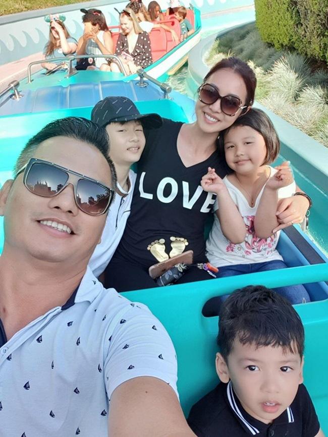 Jennifer Phạm nghe chồng nghỉ việc, đi chơi dưỡng thai lần 4 - Ảnh 2.