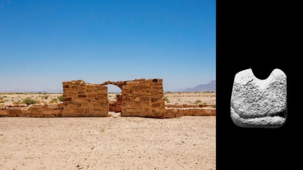 Nhìn qua cứ tưởng viên đá bình thường, ai ngờ lại là quân cờ vua có niên đại cổ nhất thế giới - Ảnh 1.