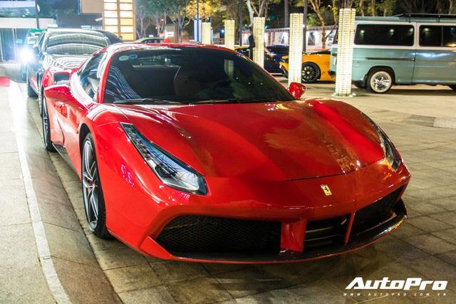 Cường Đô-la và đại gia Sài Gòn tụ họp gần 10 siêu xe mừng thôi nôi con trai trưởng đoàn Car Passion Hứa Hà Phương - Ảnh 4.