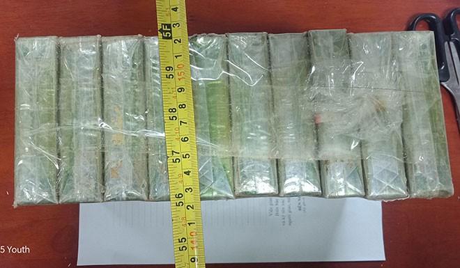 Vận chuyển 10 bánh heroin với lời hứa tiền công hậu hĩnh - Ảnh 1.