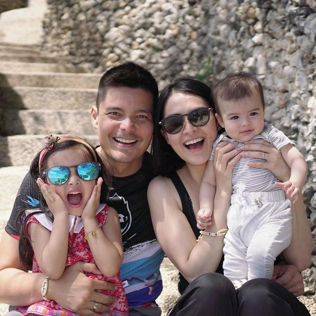 Mỹ nhân đẹp nhất Philippines Marian Rivera khoe ảnh gia đình 4 người, ai nấy đều phải thốt lên vì nhan sắc tuyệt phẩm - Ảnh 2.