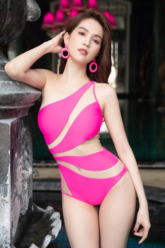Ngọc Trinh mặc bikini đỏ rực, đầy nóng bỏng - Ảnh 8.