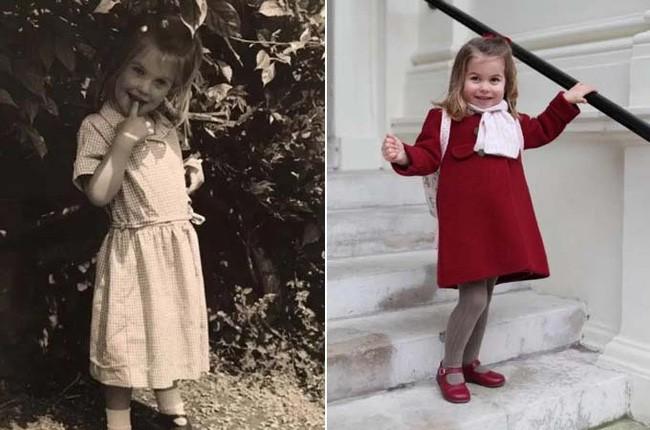 Công chúa Charlotte được dự đoán sẽ là mỹ nhân vạn người mê trong tương lai khi cộng đồng mạng phát hiện cô bé giống hệt nhân vật này - Ảnh 3.