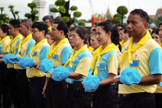 Thái Lan mở khóa huấn luyện trung thành với Nhà Vua - Ảnh 1.