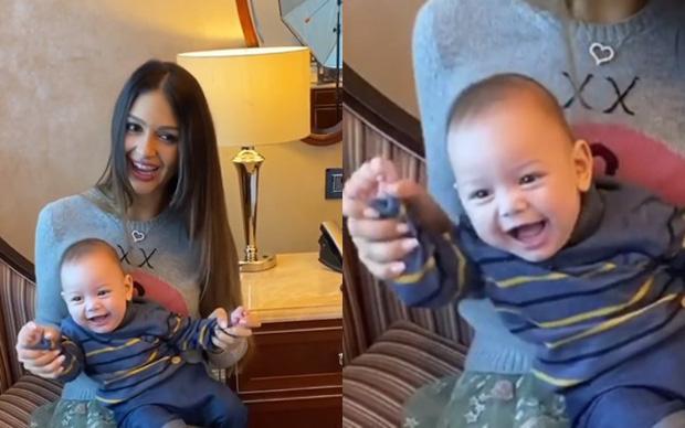 Người đẹp Nga gây phấn khích khi đăng clip của con trai nhưng cựu vương Malaysia lại có động thái dứt tình đầy phũ phàng - Ảnh 1.