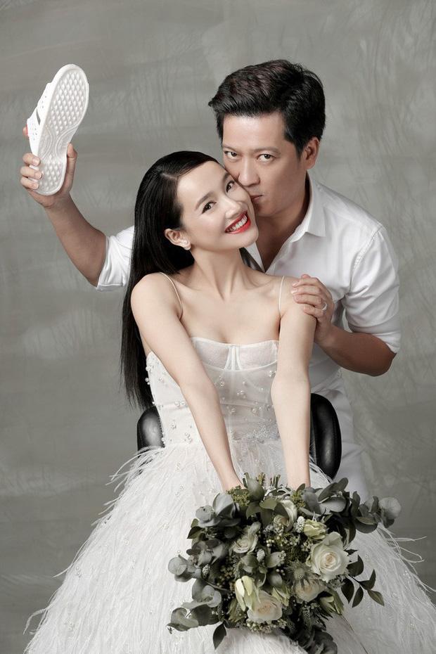 Showbiz rần rần đón tin hỷ, ngắm lại loạt ảnh cưới cực đỉnh của dàn sao Việt mà chỉ muốn lên xe hoa ngay và luôn - Ảnh 16.