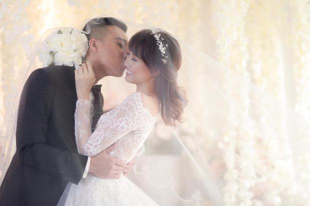 Showbiz rần rần đón tin hỷ, ngắm lại loạt ảnh cưới cực đỉnh của dàn sao Việt mà chỉ muốn lên xe hoa ngay và luôn - Ảnh 6.