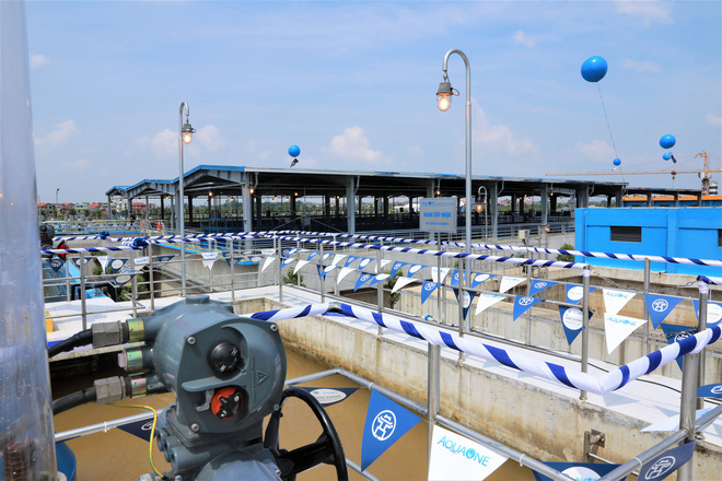 Công ty Sông Đuống lên tiếng về việc chưa nghiệm thu đã bán nước cho người dân - Ảnh 1.