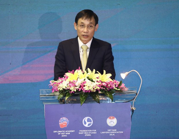 Hội thảo Biển Đông: Đơn phương diễn giải luật pháp quốc tế làm xói mòn thượng tôn pháp luật - Ảnh 2.