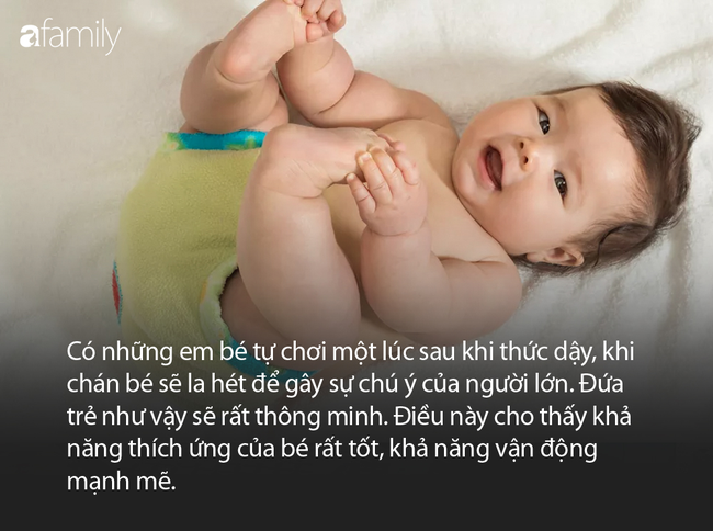Trẻ mới sinh được 3 tháng nếu có biểu hiện này chứng tỏ bé rất thông minh - Ảnh 3.