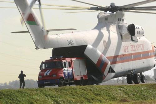 Ngấm đòn từ Ukraine, Nga xót xa nhìn trực thăng lớn nhất thế giới phải nằm đất - ảnh 19