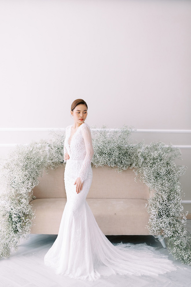 Giang Hồng Ngọc khoe ảnh cưới cùng chồng và con trai trước ngày lên xe hoa - Ảnh 14.