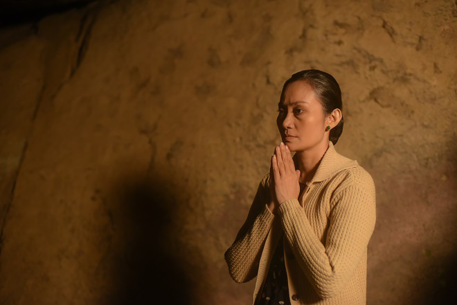 Vào vai bà Câm trong Nước mắt loài cỏ dại, Hạnh Thúy: Tôi bị ức chế vì không được nói - Ảnh 2.