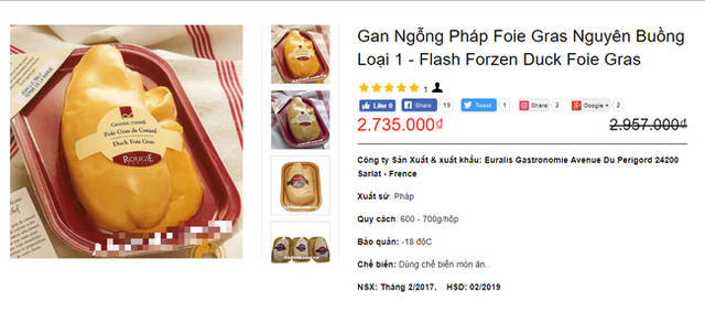 Bị cấm tại Mỹ nhưng về Việt Nam gan ngỗng béo vẫn được bán siêu đắt và nhiều mức giá chênh nhau đến vài trăm nghìn - Ảnh 1.