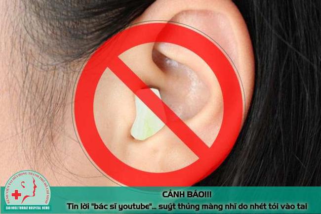 Tin lời bác sĩ youtube nam thanh niên suýt thủng màng nhĩ vì nhét tỏi vào tai chữa bệnh - Ảnh 2.