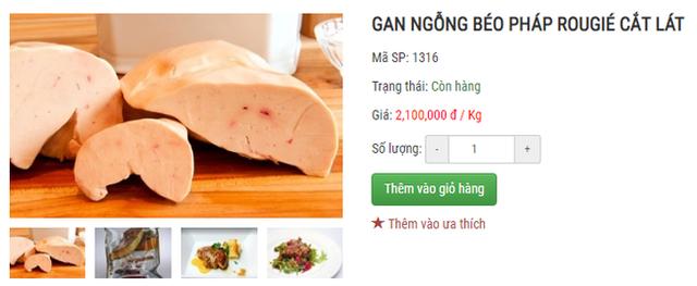 Bị cấm tại Mỹ nhưng về Việt Nam gan ngỗng béo vẫn được bán siêu đắt và nhiều mức giá chênh nhau đến vài trăm nghìn - Ảnh 3.