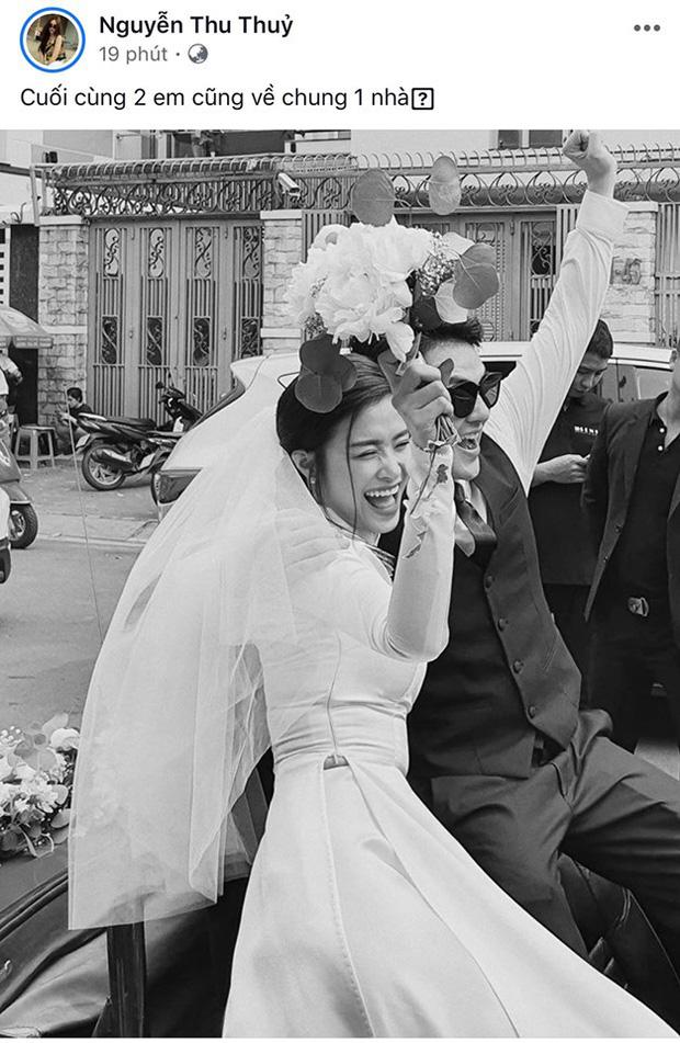 Dàn sao Việt xúc động trước khoảnh khắc Đông Nhi và Ông Cao Thắng về chung một nhà sau 1 thập kỷ yêu - Ảnh 4.