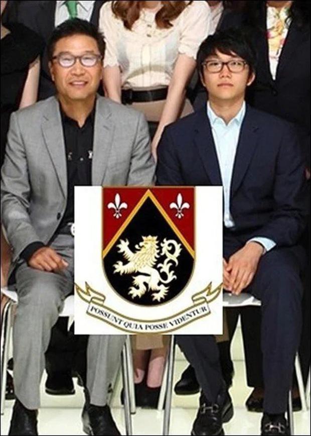 Hình ảnh hiếm hoi của rich kid nhà họ Lee.