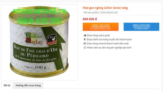 Bị cấm tại Mỹ nhưng về Việt Nam gan ngỗng béo vẫn được bán siêu đắt và nhiều mức giá chênh nhau đến vài trăm nghìn - Ảnh 7.
