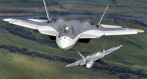 Không quân Nga sắp tiếp nhận tiêm kích Su-57 từng thử nghiệm ở chiến trường Syria? - ảnh 1
