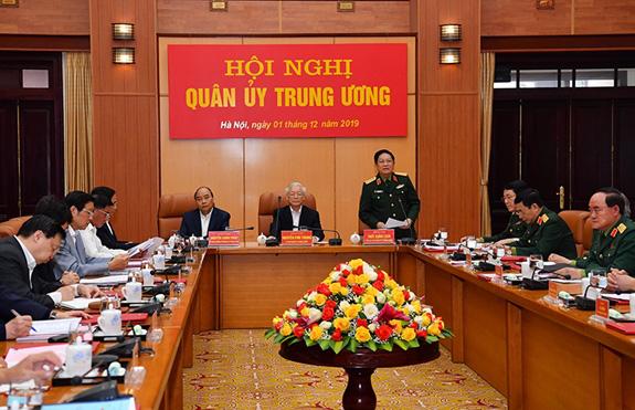 Quân ủy Trung ương tổng kết công tác quân sự, quốc phòng năm 2019 - Ảnh 2.