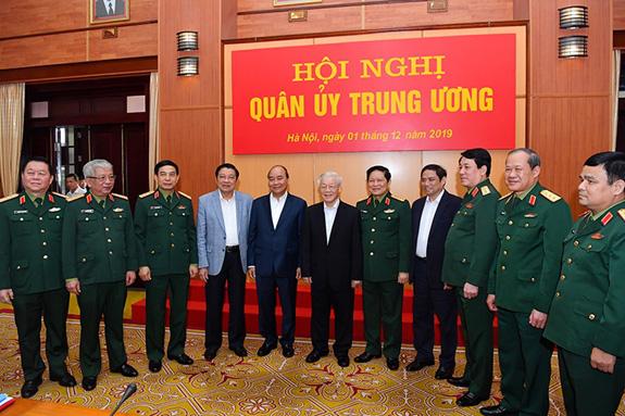 Quân ủy Trung ương tổng kết công tác quân sự, quốc phòng năm 2019 - Ảnh 5.