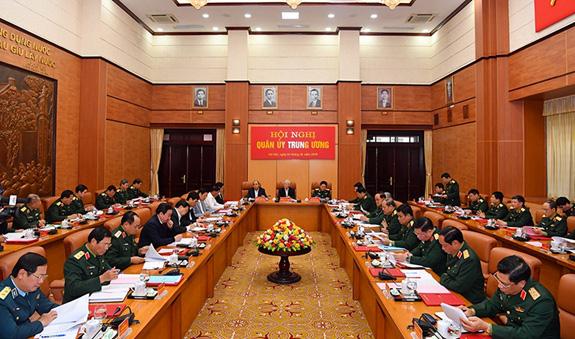 Quân ủy Trung ương tổng kết công tác quân sự, quốc phòng năm 2019 - Ảnh 4.
