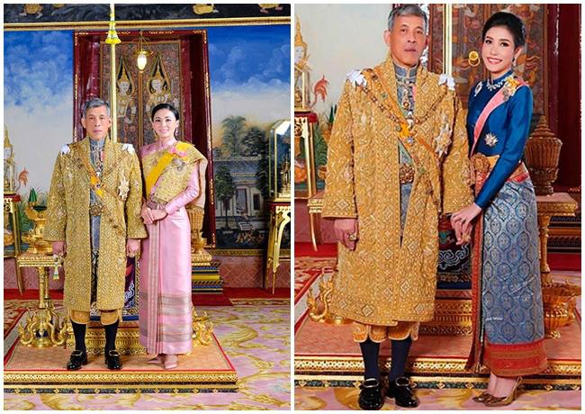 Cung điện phát hành hình ảnh mới của vợ chồng Quốc vương Thái Lan cho thấy sự khác biệt rõ rệt giữa Hoàng hậu và Hoàng quý phi - Ảnh 4.