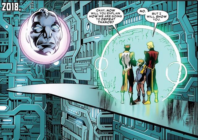 Tiết lộ danh tính người đã hạ Thanos - kẻ soán ngôi TOAA để trở thành Chúa Trời của vũ trụ Marvel - Ảnh 7.