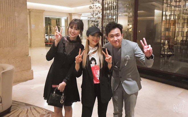 Trấn Thành thừa nhận áp lực khi đứng cạnh diva Hàn Quốc So Hyang - Ảnh 3.