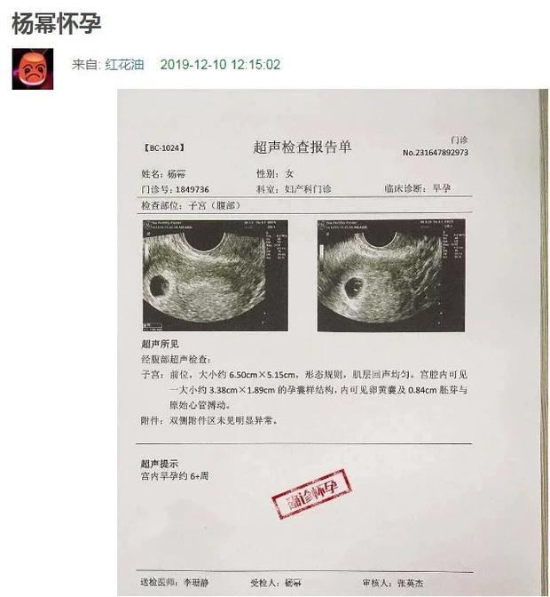 Dương Mịch bị nghi lộ giấy khám mang thai với tình trẻ - ảnh 2