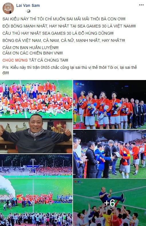Sau tuyên bố sốc, MC Lại Văn Sâm gọi tên cầu thủ đá hay nhất SEA Games 30 - Ảnh 1.
