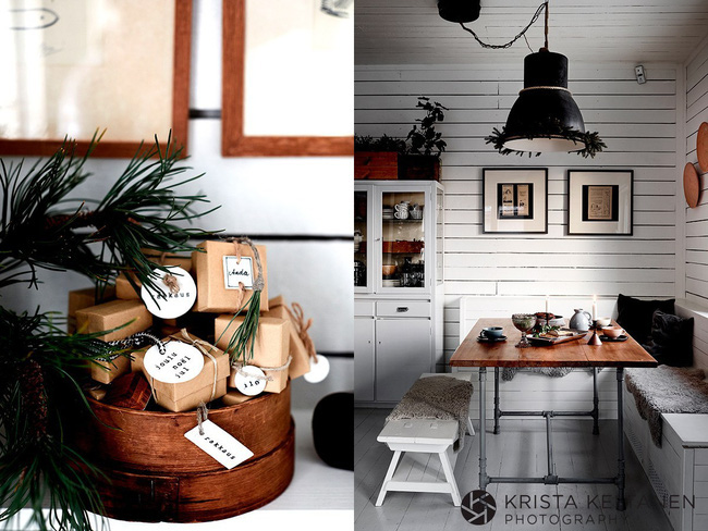 Đón Noel siêu ấm áp với những kiểu trang trí cực đơn giản ai ai cũng có thể học tập - Ảnh 1.