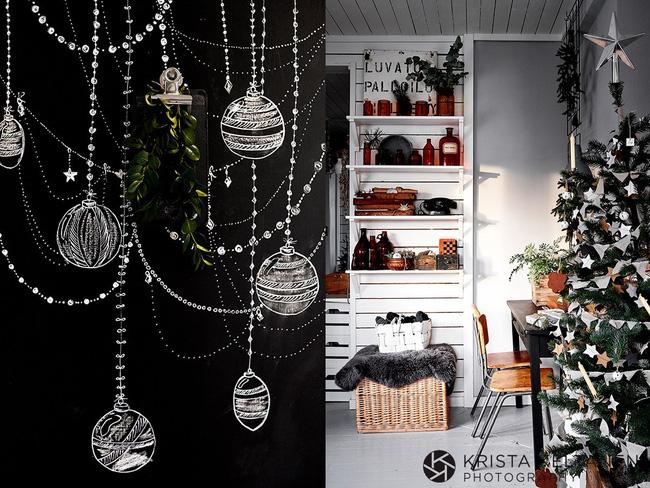 Đón Noel siêu ấm áp với những kiểu trang trí cực đơn giản ai ai cũng có thể học tập - Ảnh 11.